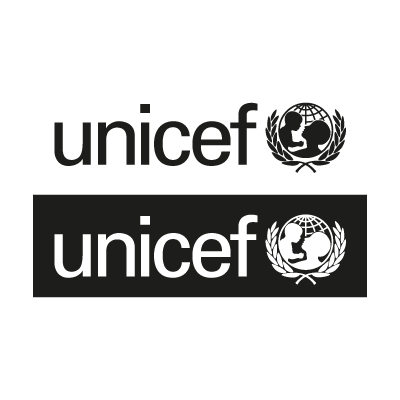 Unicef Black logo vector logo