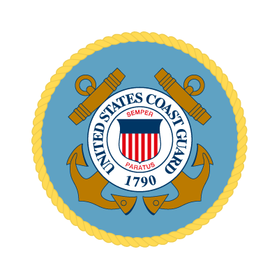 United States Coast Guard logo vector logo
