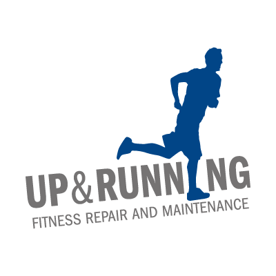 Up & Running logo vector logo
