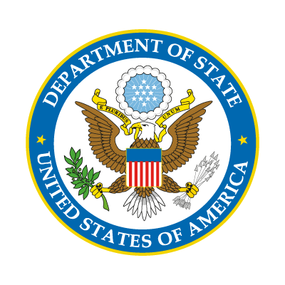 US Department of State logo vector logo