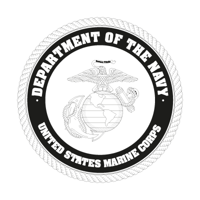 US Marine Corp Black logo vector logo