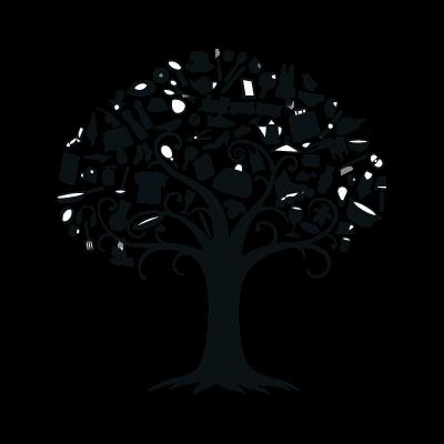 V&D logo vector logo