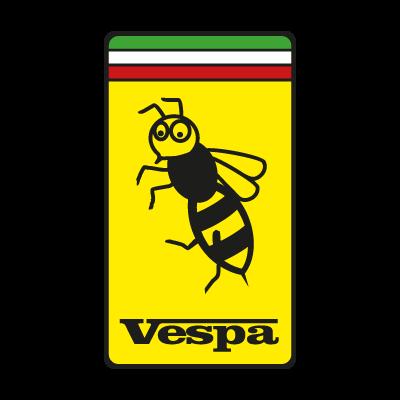 Vespa Ferrari logo vector logo