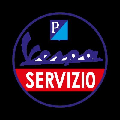 Vespa Servizio logo vector logo