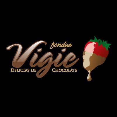 Vigie Fondue logo vector logo