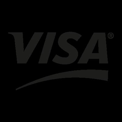 VISA Black logo vector logo