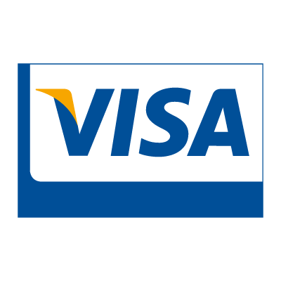 Visa Card logo vector logo