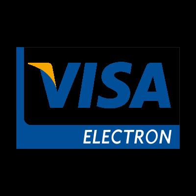 Visa electron new logo vector logo