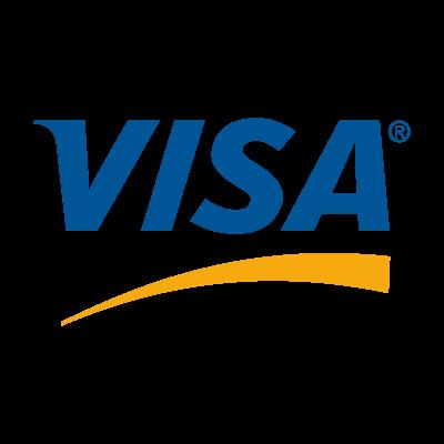 Visa US logo vector logo