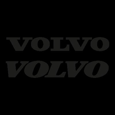 Volvo (Text) logo vector logo
