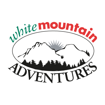 White Mountain Adventures logo vector logo