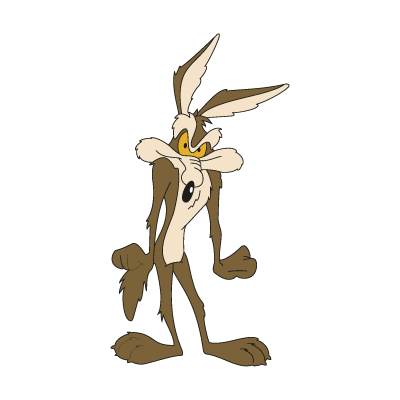 Willy il Coyote vector logo