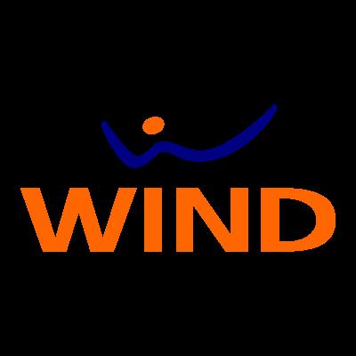 Wind logo vector logo