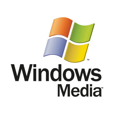 Windows Media logo vector logo