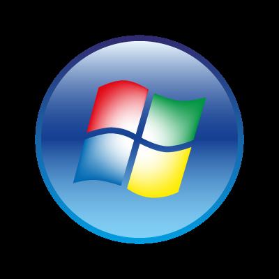 Windows Vista  logo vector logo