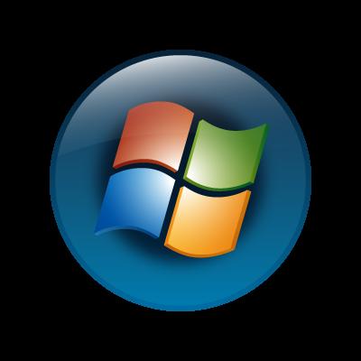 Windows vista (OS) logo vector logo