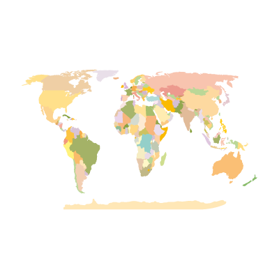 World Map Earth logo vector logo