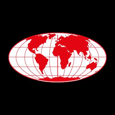 World Map logo vector logo
