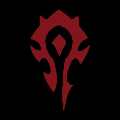 World of Warcraft Horde logo vector logo