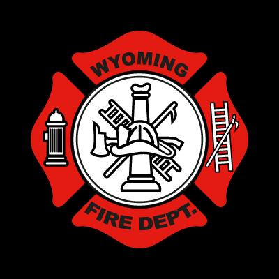 Wyoming Fire Department logo vector logo