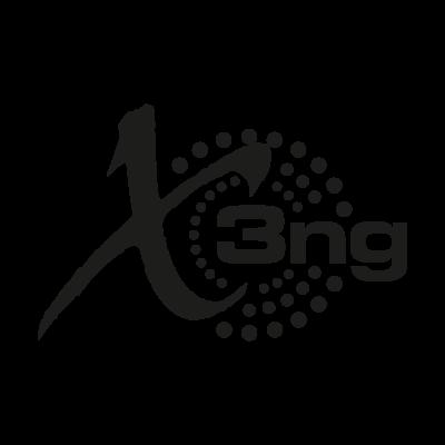 X3ng logo vector logo