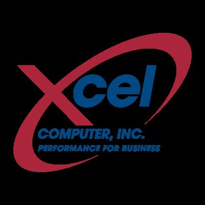 Xcel Computer logo vector logo