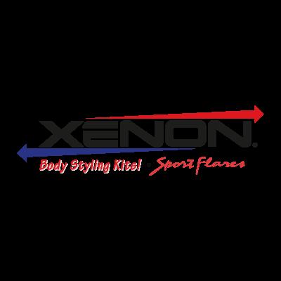 Xenon logo vector logo