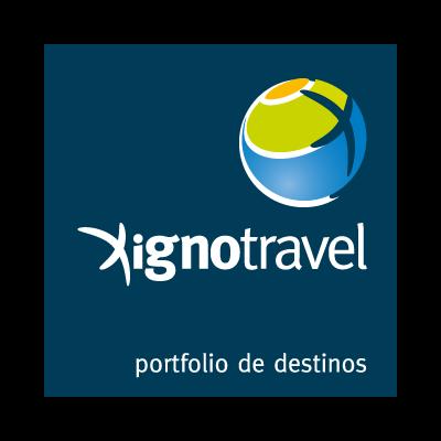 Xigno travel logo vector logo