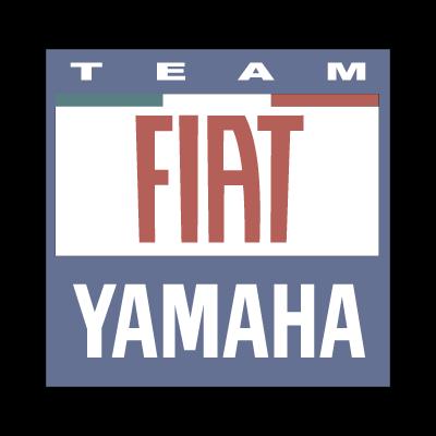 Yamaha Fiat team 2007 logo vector logo