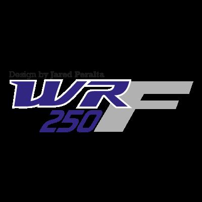Yamaha WR250F logo vector logo