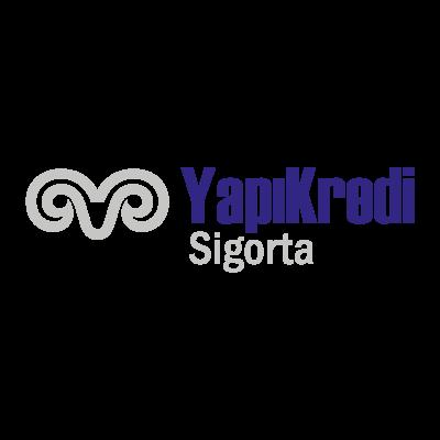 Yapikredi sigorta logo vector logo