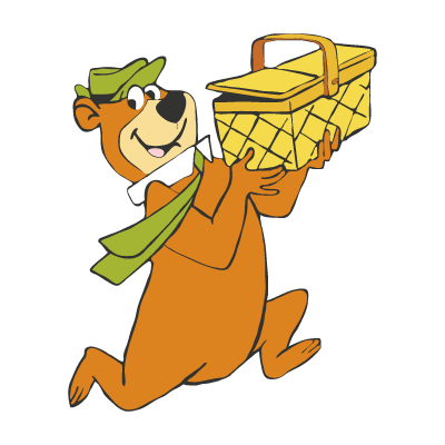 Yogi Bear vector logo