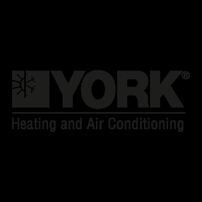York Black logo vector logo
