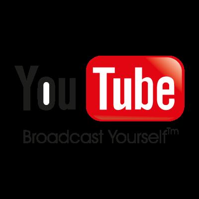 YouTube logo vector logo