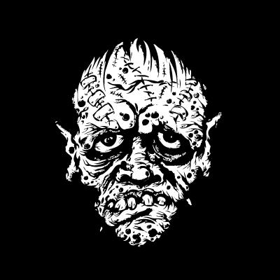 Zombie vector logo