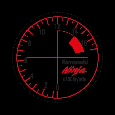 Zx-6r Ninja logo vector logo