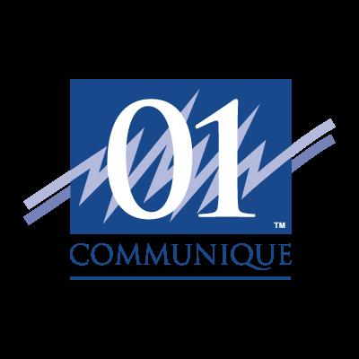 01 Communique logo vector logo