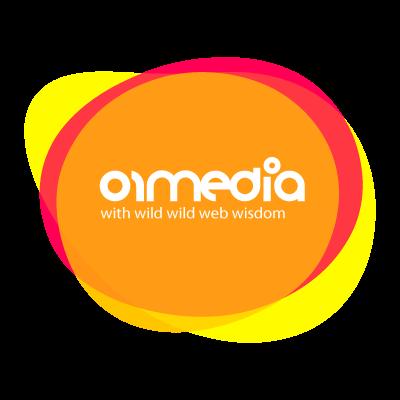01media logo vector logo