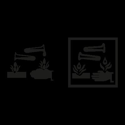 034 sign vector logo
