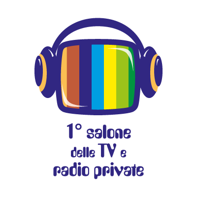1 salone delle TV e radio private logo vector logo