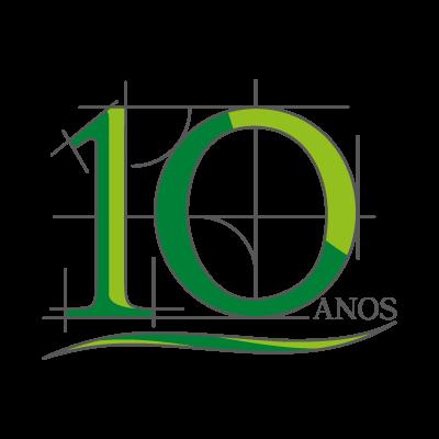 10 Anos logo vector logo