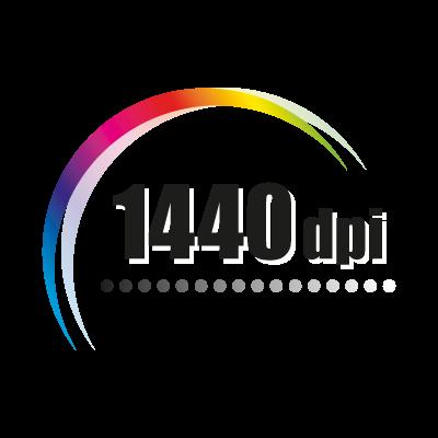 1440 dpi logo vector logo
