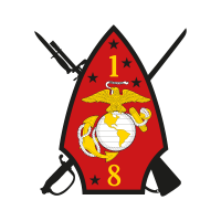 1st Battalion 8th Marine Regiment logo