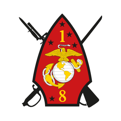 1st Battalion 8th Marine Regiment logo vector logo