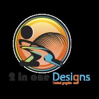2 in one Designs logo