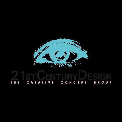 21st Century Design logo vector logo