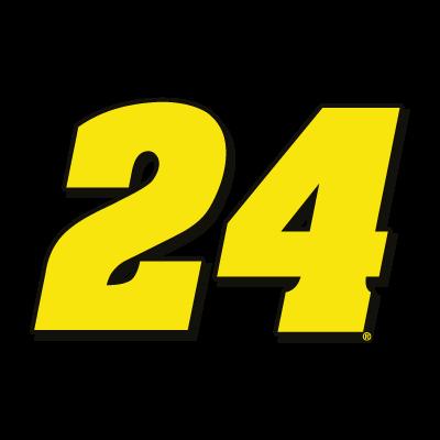 24 Hendrick Motorsports logo vector logo