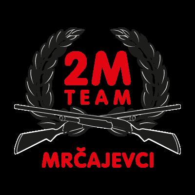 2M racing team logo vector logo