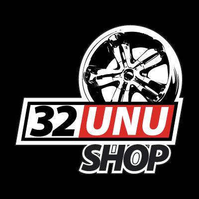 32unu Shop logo vector logo