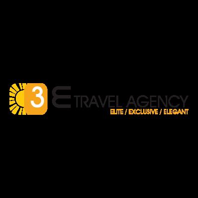 3E Travel Agency logo vector logo